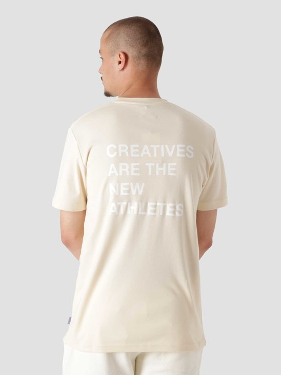The New Originals Creatives Are The New Athletes T-Shirt Creme