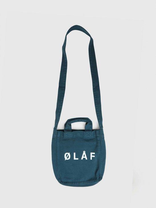 Olaf Hussein OLAF Mini Tote Bag Petrol