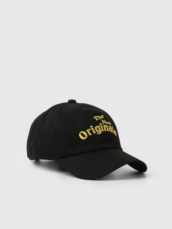 The New Originals Workman Cap Black TNO.211.WM.700.999