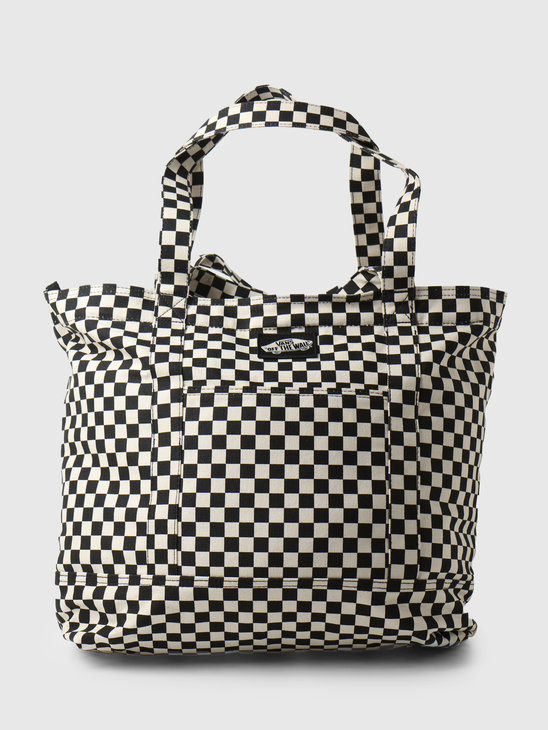 Vans Wm Tell All Zip Tote Checkerboard VN0A5I1K7051