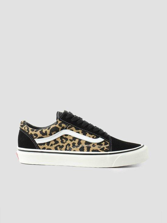 Vans UA Old Skool 36 Dx Anaheim Factory Black Tan Leopard VN0A54F39GI1