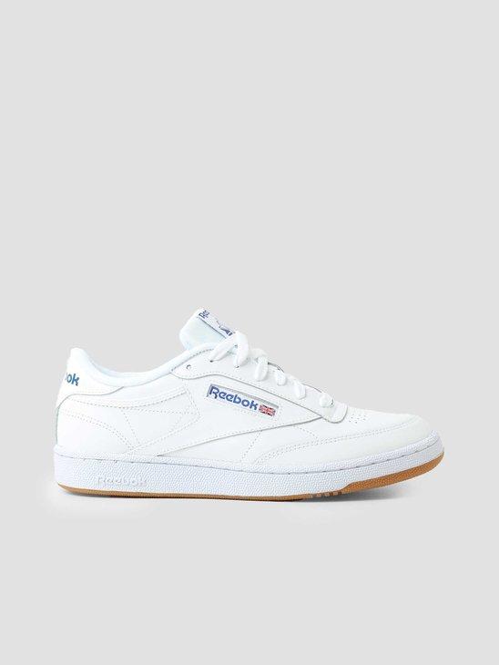 Reebok Club C 85 White Royal Gum AR0459