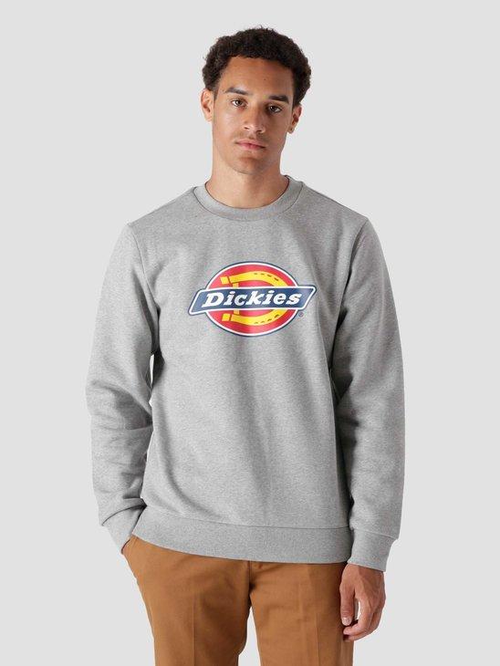 Dickies Icon Logo Sweatshirt Grey Melange DK0A4XCIGYM