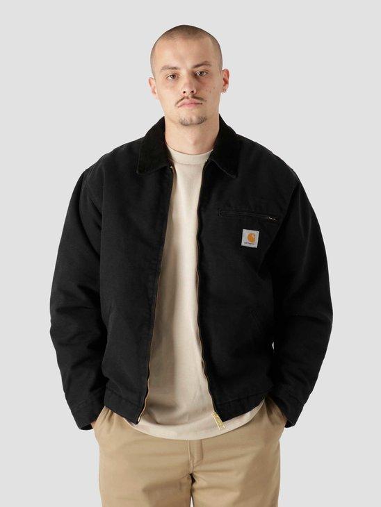 Carhartt WIP OG Detroit Jacket Black Black I027358