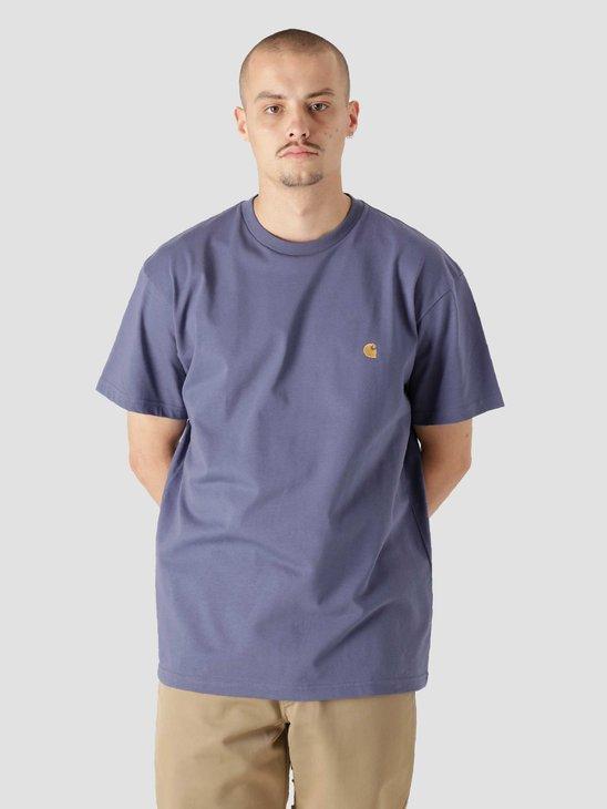 Carhartt WIP Chase T-Shirt Cold Viola Gold I026391