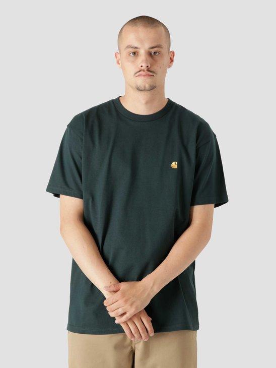 Carhartt WIP Chase T-Shirt Frasier Gold I026391