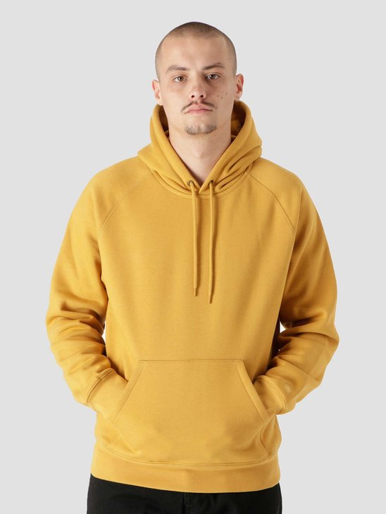 Carhartt WIP Hooded Chase Sweat Helios Gold I026384
