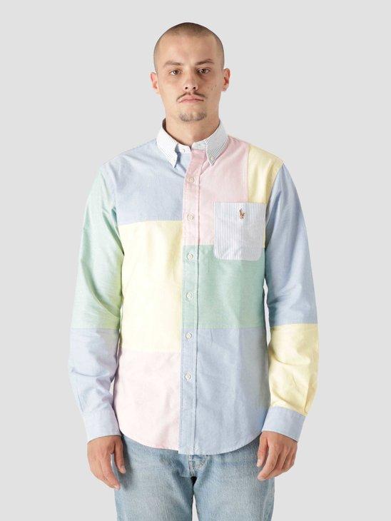 Polo Ralph Lauren Classic Oxford Shirt 5500 Solid Multi Funshirt 710853142001