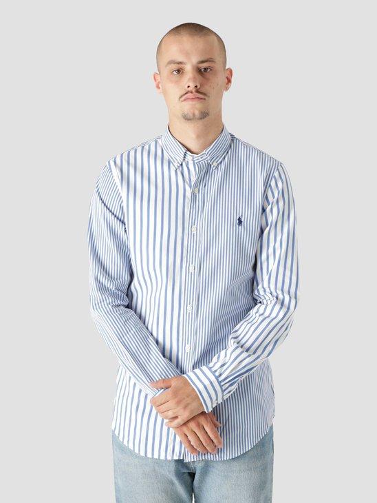 Polo Ralph Lauren 80-2 Poplin Shirt 5236B Blue Funshirt 710849310001