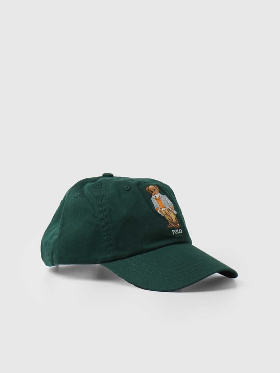 Polo Ralph Lauren Classic Sport Cap W-Bear College Green 710852037002
