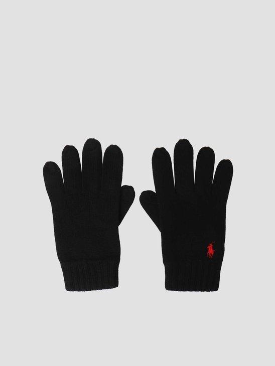 Polo Ralph Lauren Merino Wool Glove Polo Black 710761416003