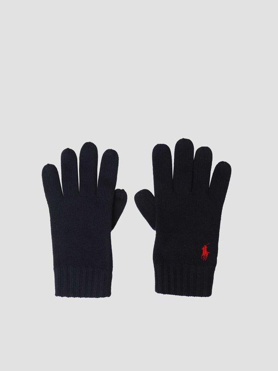 Polo Ralph Lauren Merino Wool Glove Piper Navy 710761416002