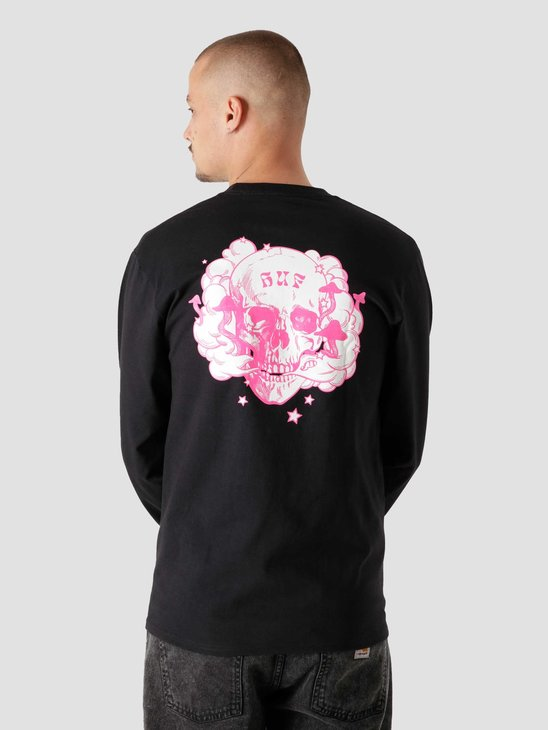 HUF Gratefully Yours L/S Tee Black TS01477
