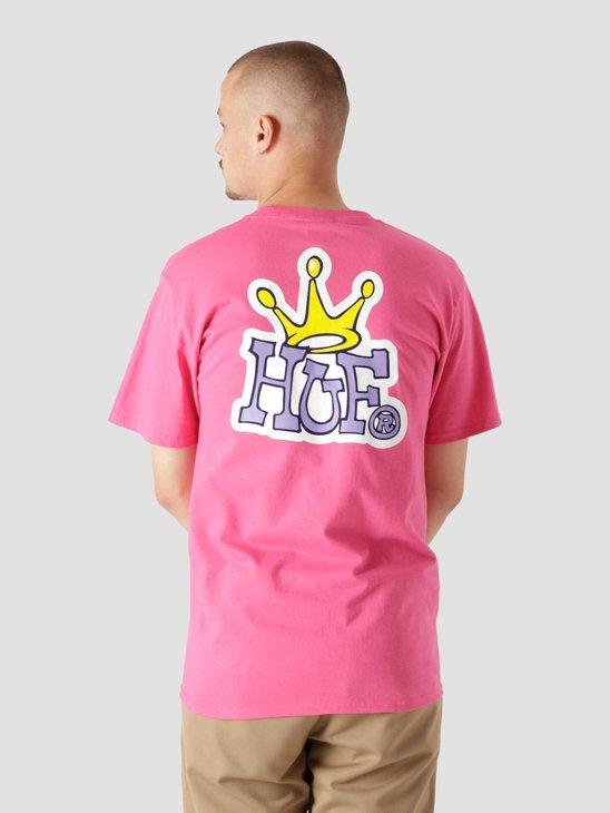 HUF Huf Crown Logo S/S Tee Sangria TS01414