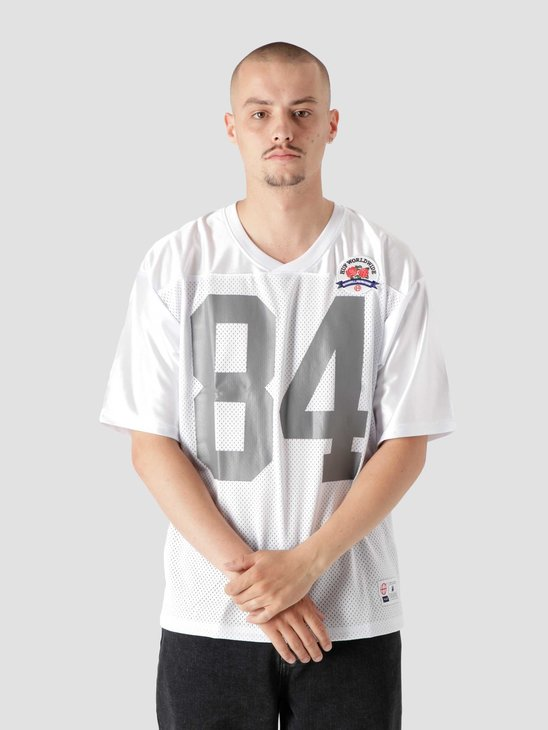 HUF Top Rank Football Jersey White KN00292