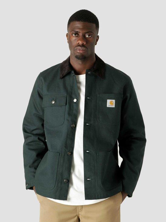 Carhartt WIP Michigan Coat Frasier Black I028425