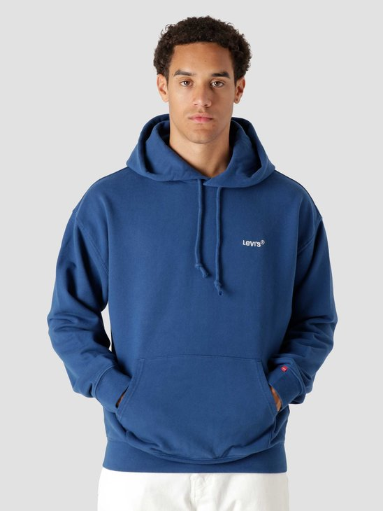 Levis Red Tab Sweats Hoodie Navy Peo Blues A0747-0012