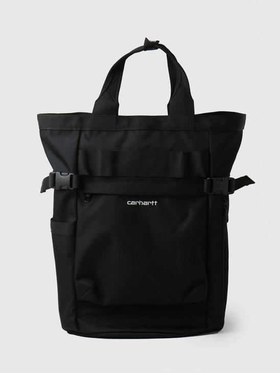 Carhartt WIP Payton Carrier Backpack Black White I026874
