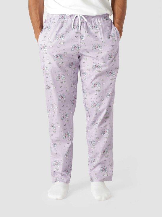 Ceizer x Pockies Lazy Pyjama Pants Lavendel P100