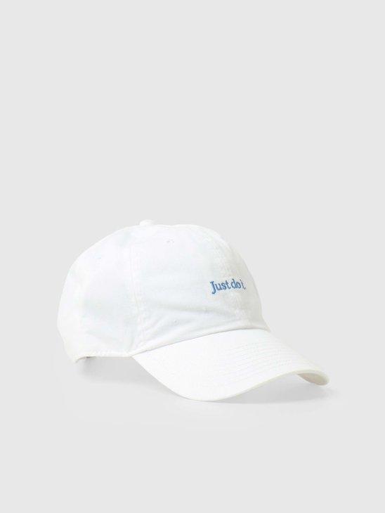 U Nsw H86 Cap Jdi Wash Cap White Signal Blue CQ9512-102