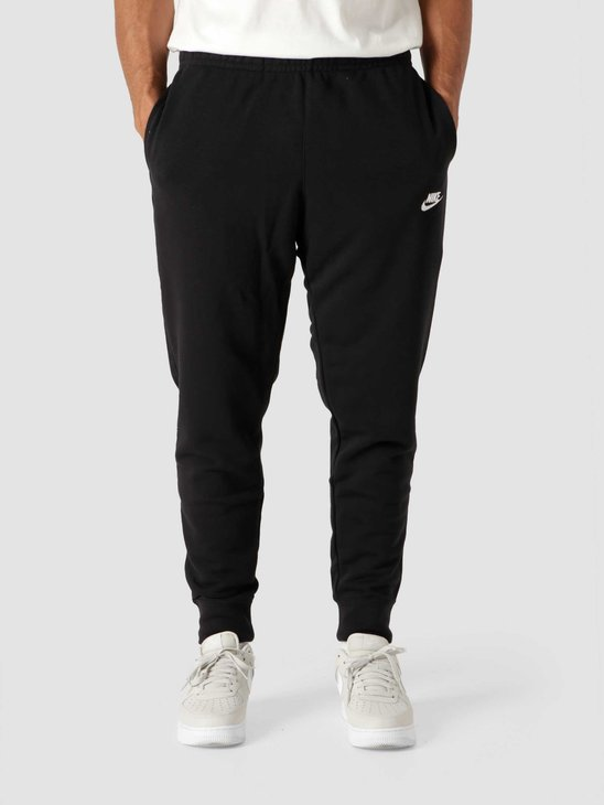 Nike M Nsw Club Jggr Ft Black Black White BV2679-010