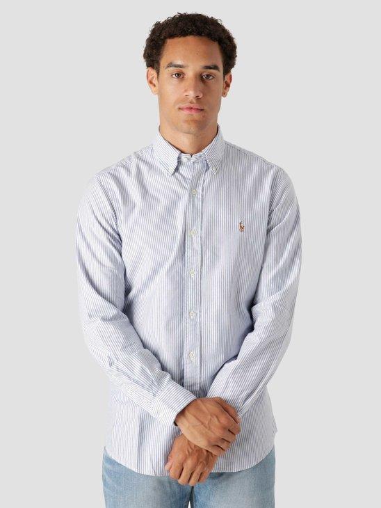 Polo Ralph Lauren Classic Oxford Shirt 4830A Blue White 710853131002