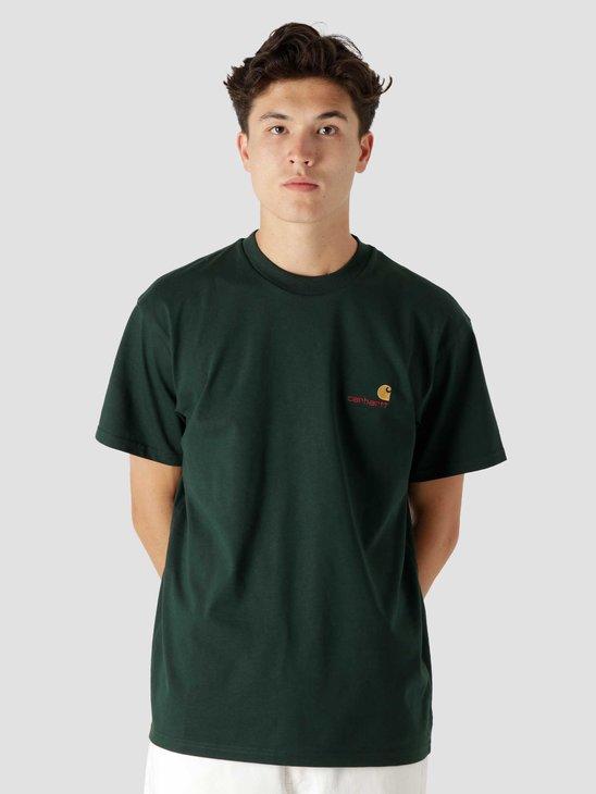 Carhartt WIP American Script T-Shirt Grove I029956