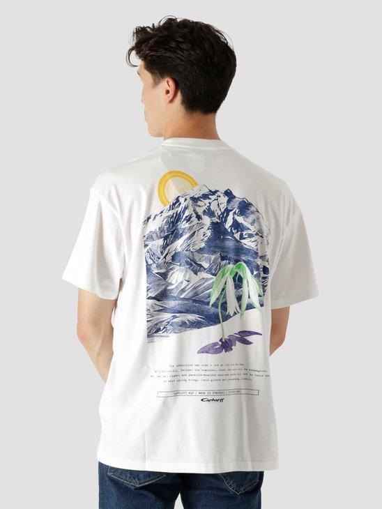 Carhartt WIP Mountain T-Shirt White I029615