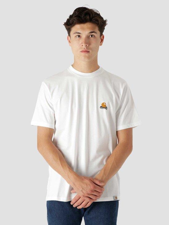 Carhartt WIP Trap C T-Shirt White I029610