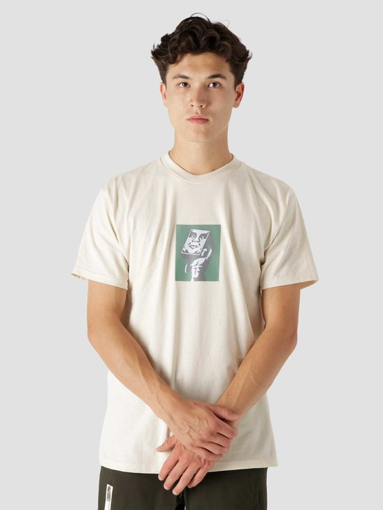 Obey At Last Classic T-Shirt Cream 165262783