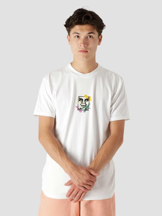 Obey Flower Dance Classic T-Shirt White 165262814