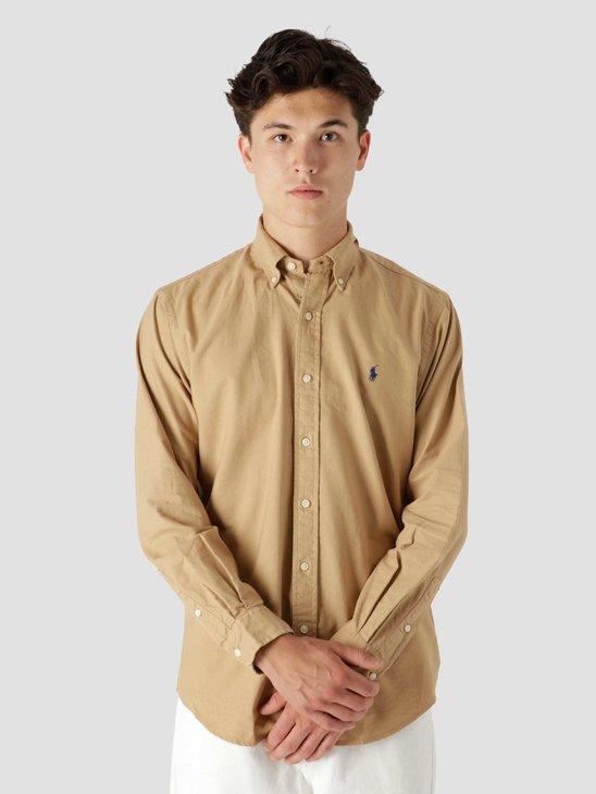 Polo Ralph Lauren Gd Oxford Shirt Classic Camel 710805564018