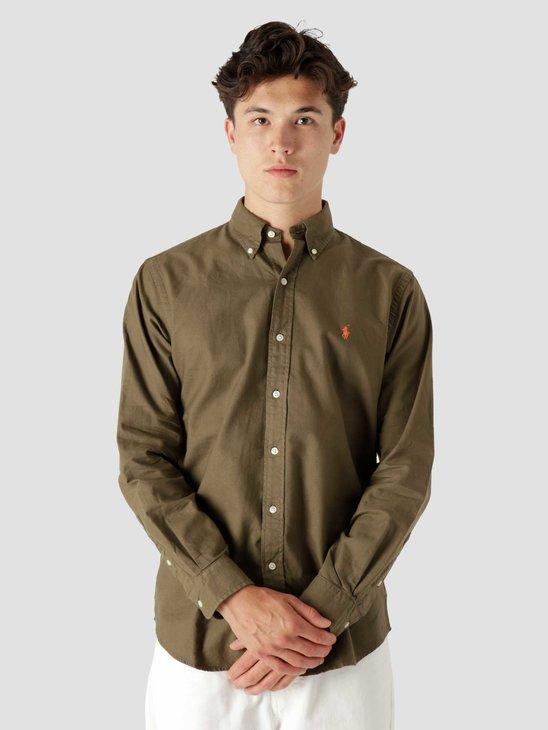 Polo Ralph Lauren Gd Oxford Shirt Defender Green 710805564006