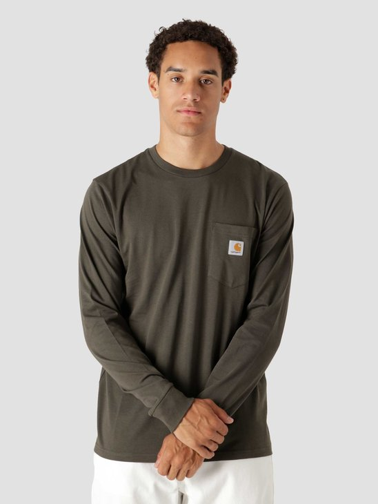 Carhartt WIP Longsleeve Pocket T-Shirt Cypress I022094