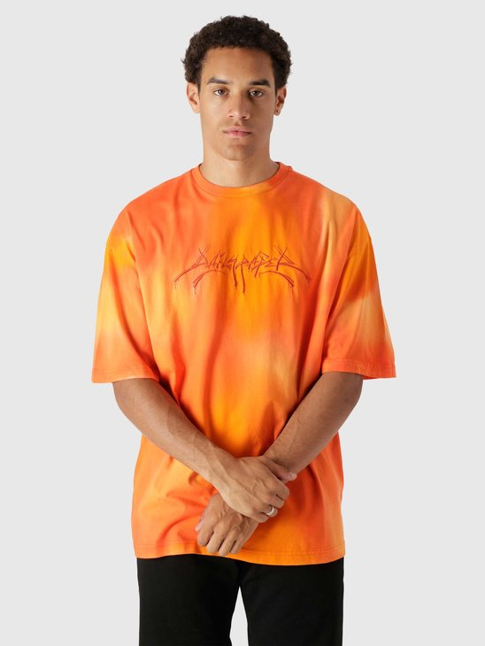 Daily Paper Lexter Ss T-Shirt Washed Orange 2121023