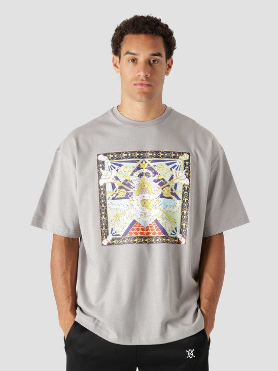 Daily Paper Leval Ss T-Shirt Grey 2121020