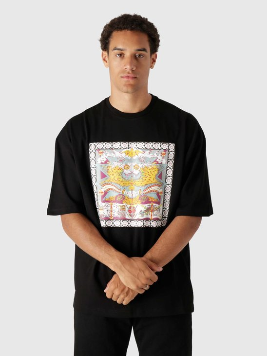 Daily Paper Levin Ss T-Shirt Black 2121019