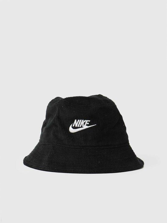 Nike U Nsw Bucket Futura Corduroy Black White DC3965-010