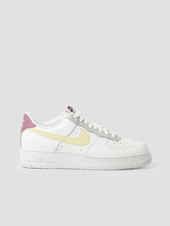 Nike Wmns Nike Air Force 1 '07 Ess White Lemon Drop Regal Pink DN4930-100