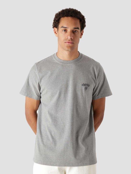 Arte Antwerp Tissot Heart T-Shirt Grey AW21-067T