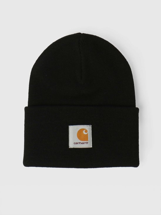 Carhartt WIP Acrylic Watch Hat Black I020222
