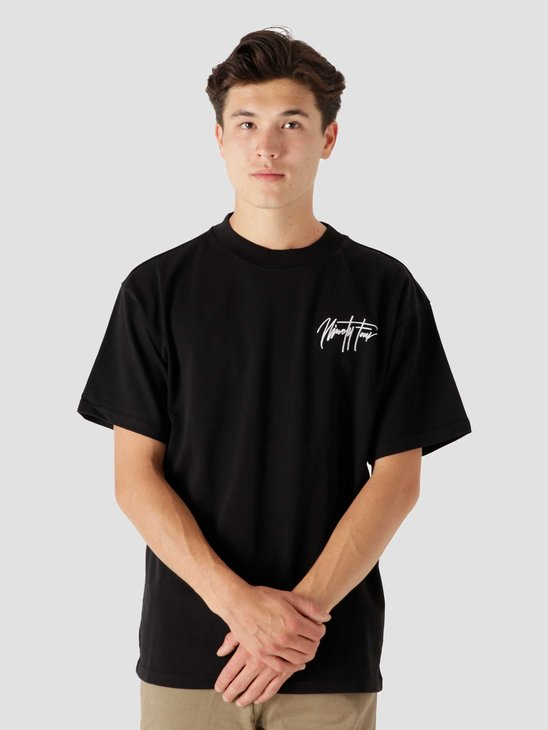 Ninetyfour NTF Black Sig T-Shirt