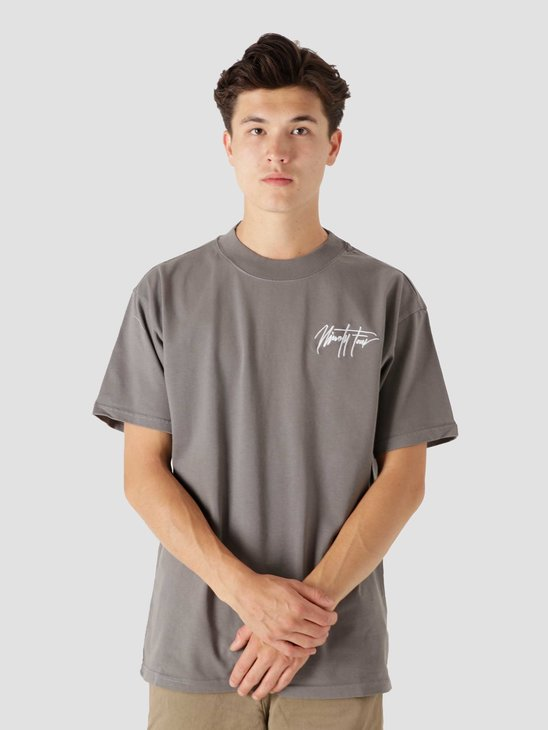 Ninetyfour NTF Granite Grey Sig T-Shirt
