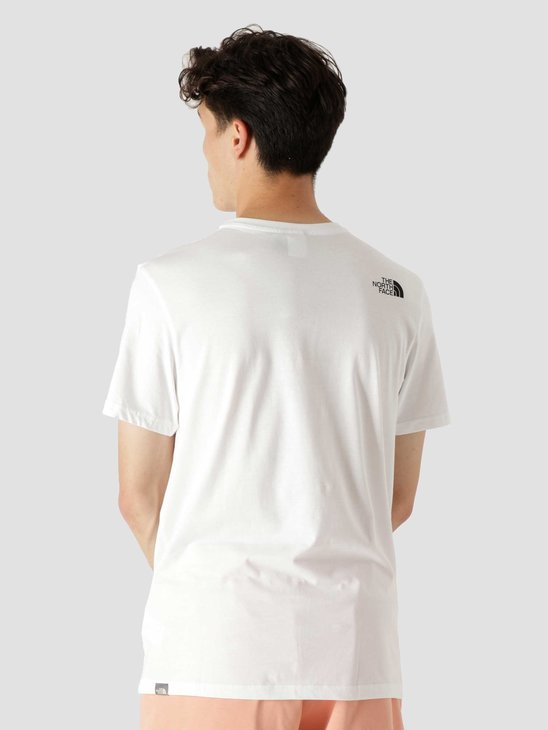 The North Face Simple Dome T-Shirt White NF0A2TX5FN4