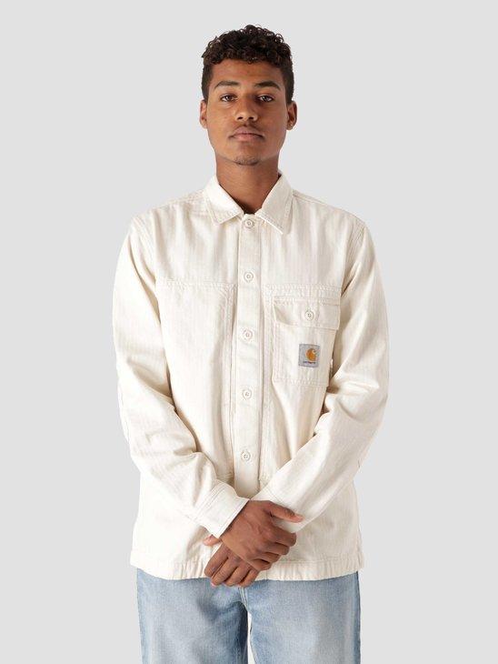 Carhartt WIP Longsleeve Charter Shirt Natural I029771
