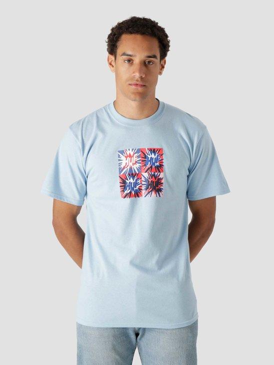 HUF Firecracker Shortsleeve T-Shirt Light Blue TS01701