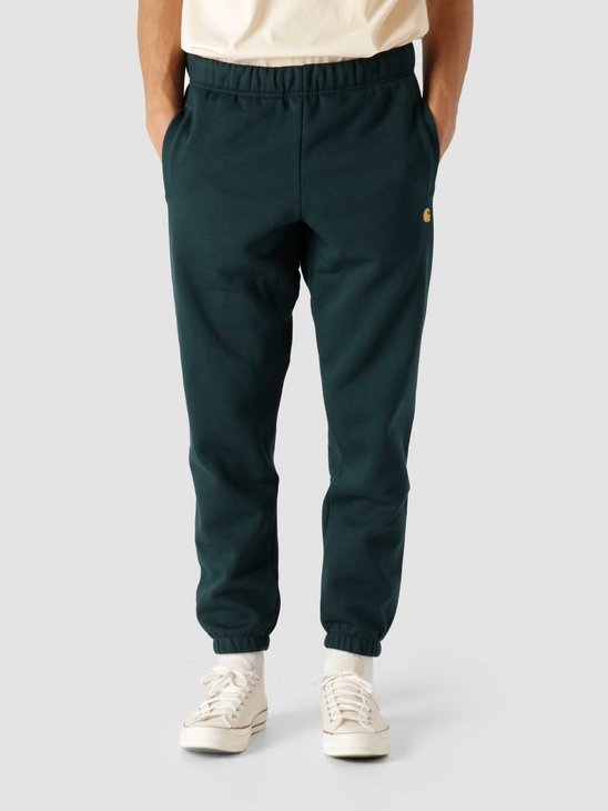 Carhartt WIP Chase Sweat Pant Frasier Gold I028284