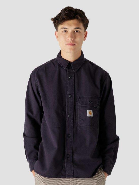 Carhartt WIP Reno Shirt Jac Dark Navy I029424