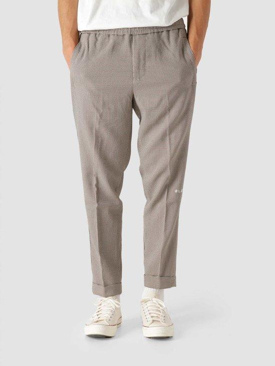 Olaf Hussein OLAF Slim Elasticated Trousers Houndstooth