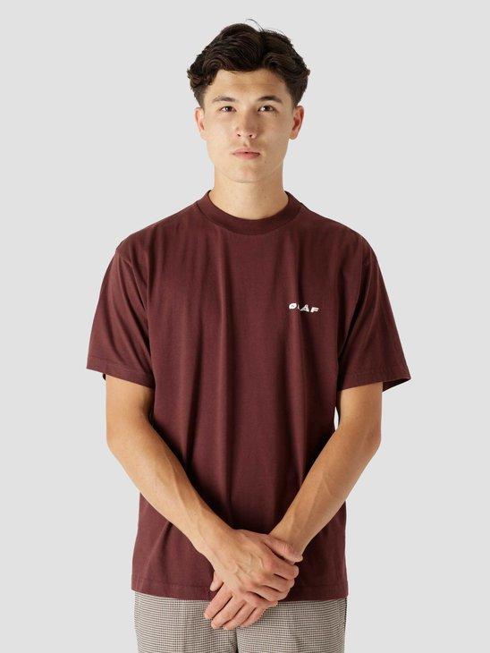 Olaf Hussein OLAF Uniform T-Shirt Burgundy